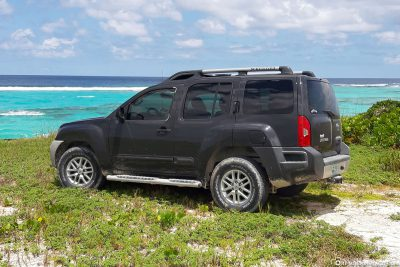 Our jeep for the island tour