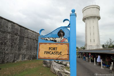 Das Fort Fincastle