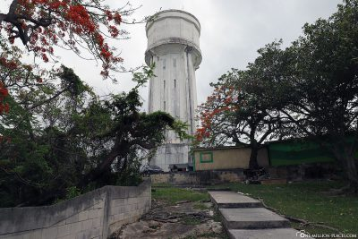 The water tower in Nassau