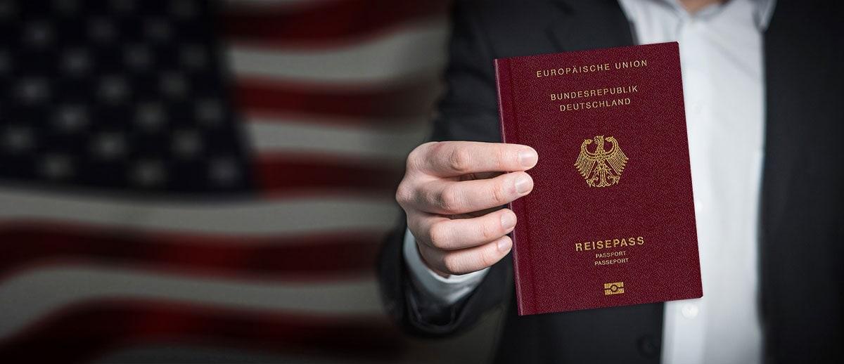 ESTA Application USA Passport, Travel Report, German Passport