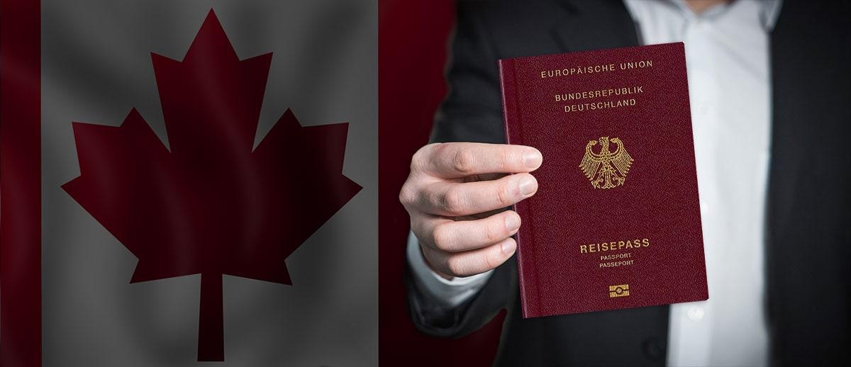 eTA Application Canada Passport, German Passport, Travel Report
