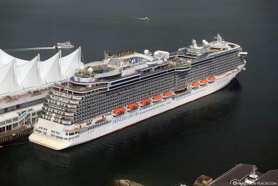 Das Kreuzfahrtschiff Royal Princess