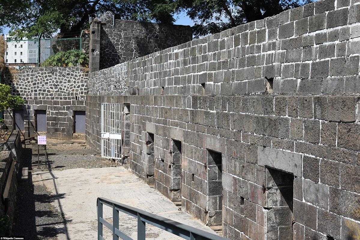 Das UNESCO-Weltkulturerbe Aapravasi Ghat, Mauritius, Port Louis