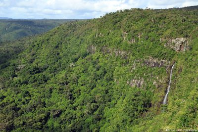 View of Black River Gorges National Park