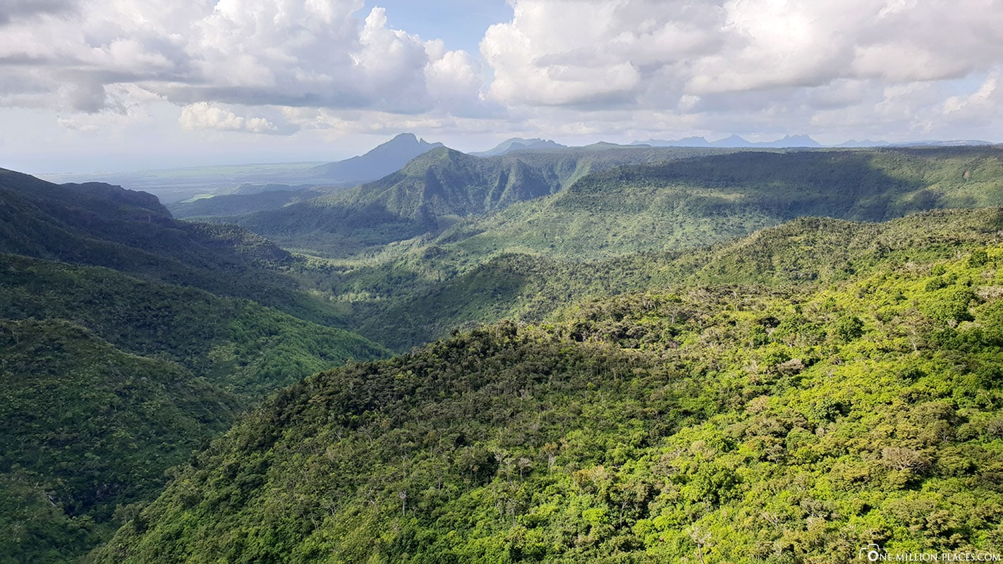 Panorama, View Point, Black River Gorges National Park, Mauritius, Travel Report