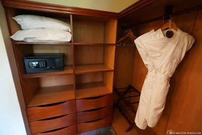 Cabinet, Safe & Bathrobes
