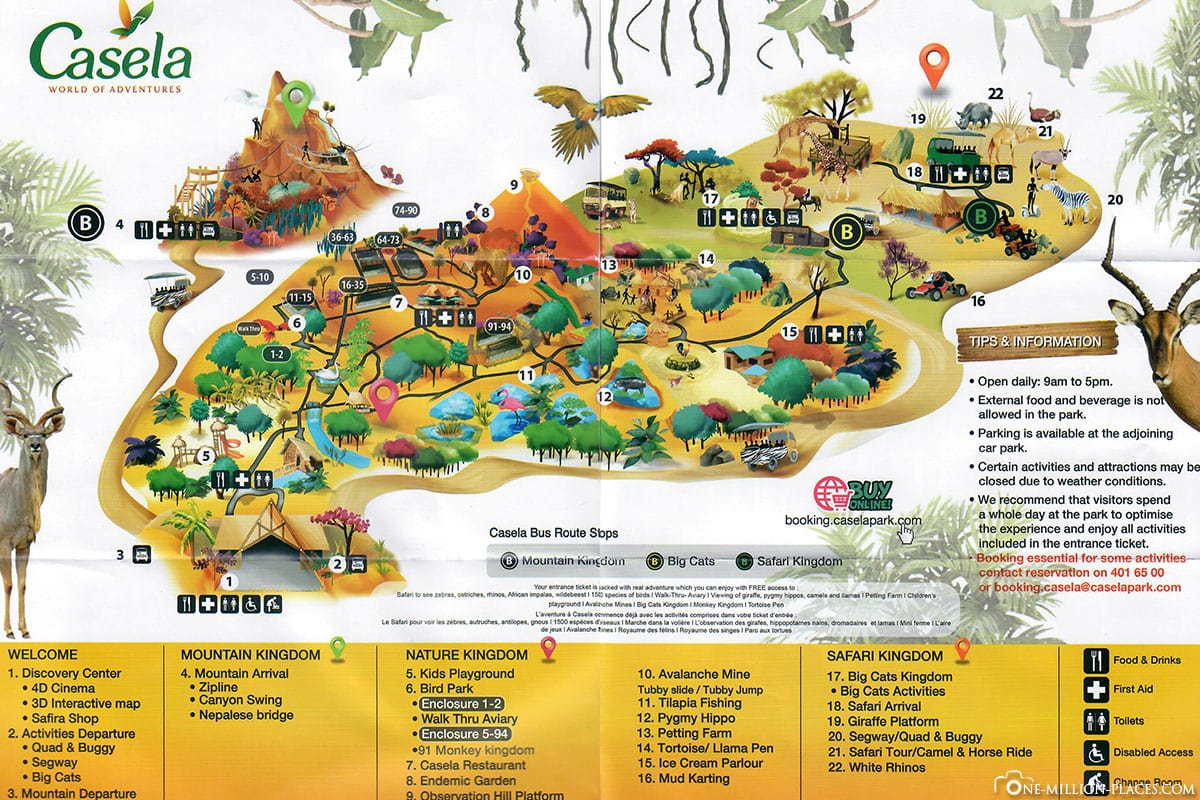 Map, Map, Overview Map, Animals, Casela Park, Zoo, Zoo, Mauritius, Experiences, Travelreport