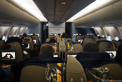Business Class in Condor's Boeing 767-300ER