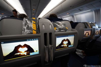 The Business Class at Condor