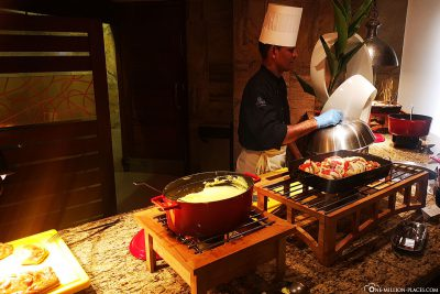 Buffet im La Citronnelle