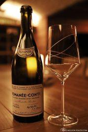 Wine tasting at Blue Penny Cellar