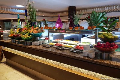 Breakfast buffet at La Citronnelle