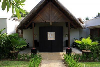 Entrance to the U Spa