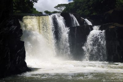 The GRSE Waterfall