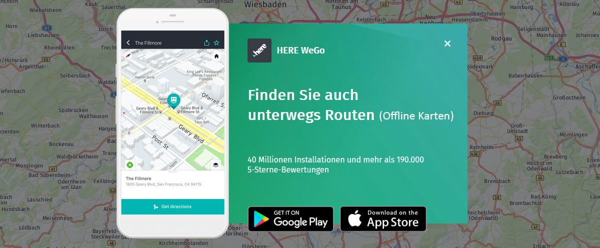 HERE WeGo, Offline Maps, Navigation, Mauritius, Without Internet, GPS Only