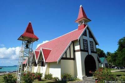 The red church of Cap Malheureux