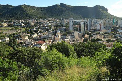 Ausblick auf Port Louis