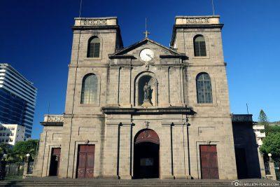 Die Kathedrale von Port Louis