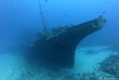 The wreck of Stella Maru