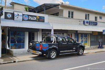 Pro Dive Diving Center in Mauritius
