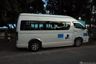 The bus for the transfer