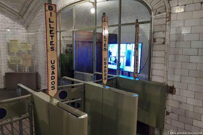The old metro entrances