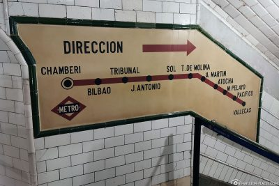 Der Geisterbahnhof Chamberí