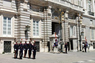 Wachablösung der Guardia Real
