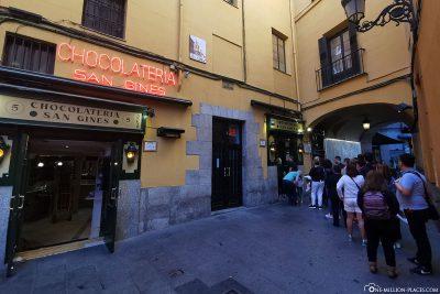San Ginés Chocolateria