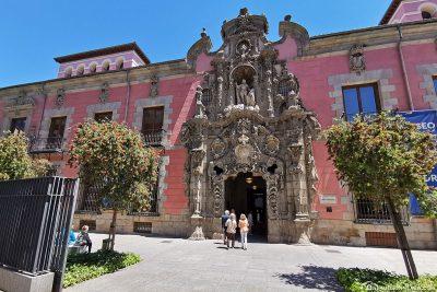 Das Geschichtsmuseum von Madrid