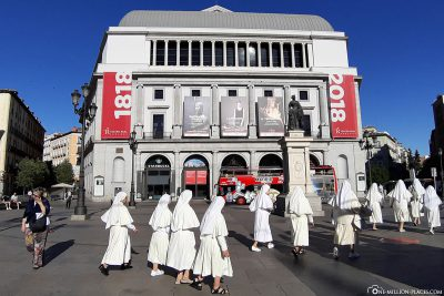 The Opera House in Madrid