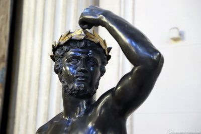 Statue in the palace