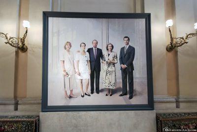 Porträt der königlichen Familie