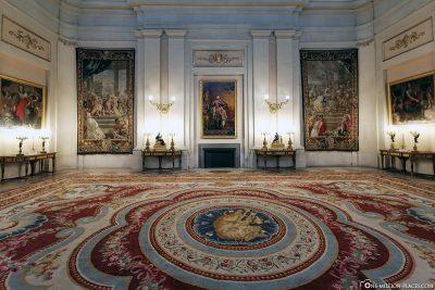 Der Königliche Palast in Madrid