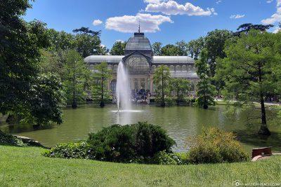 Der Kristallpalast im Buen Retiro Park