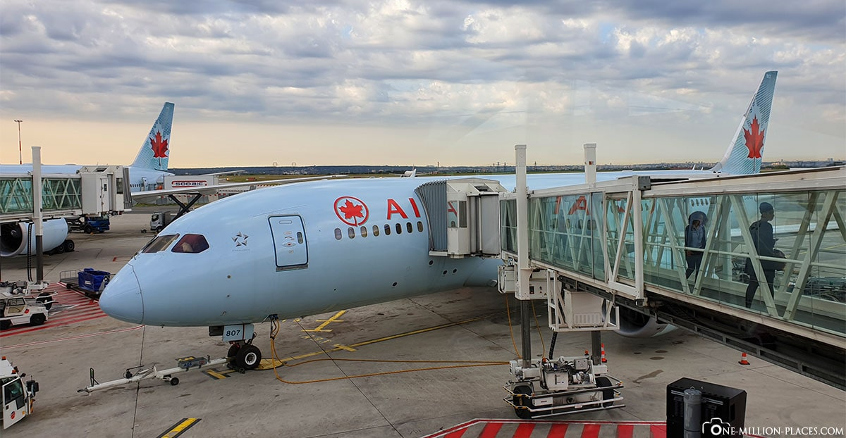 Flight Air Canada Paris Vancouver