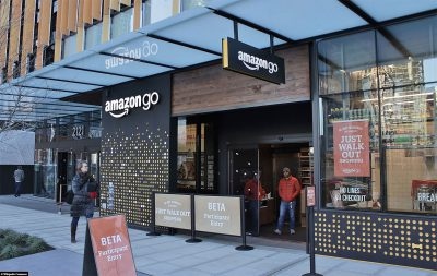 The first Amazon GO store in Seattle