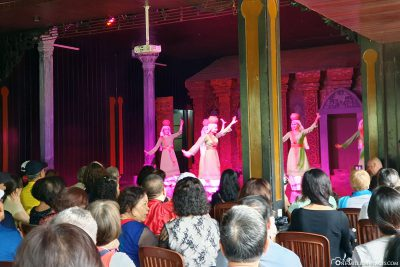 The local dance performance