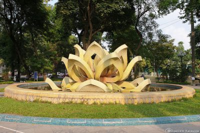 Lotus Flowers Fountain