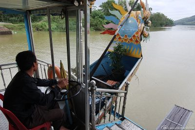 Ride with the dragon boat