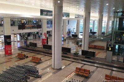 Der Flughafen in Hanoi