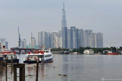 Der Wolkenkratzer Landmark 81
