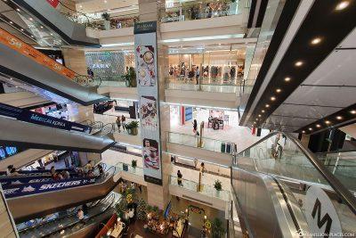 Das Vincom Shopping Center