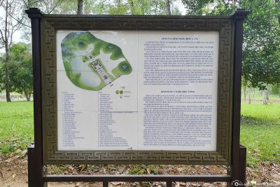 Map of the Tomb of Minh Mang