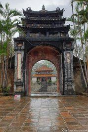 View of the Minh Lau Pavilion
