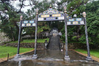 Das Grab des Kaisers Minh Mang