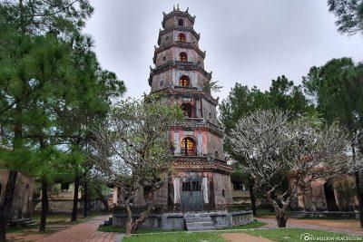 The 21-metre-high Ph.C Duyon Tower