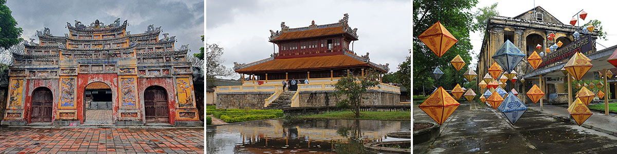 Hue Citadel Imperial Palace With The Forbidden City Vietnam