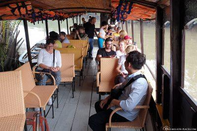 Der Start unserer Bootsfahrt