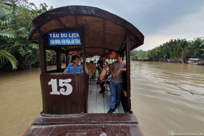 Our boat trip in the Mekong Delta